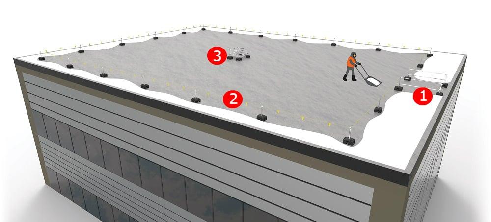 garde-corps toit