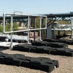 Garde-corps autoportants et pour échelle d'accès
