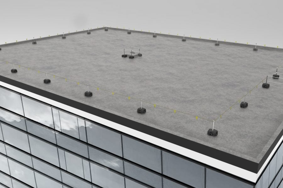 Flat Roof Snow Removal: How to Do It Safely