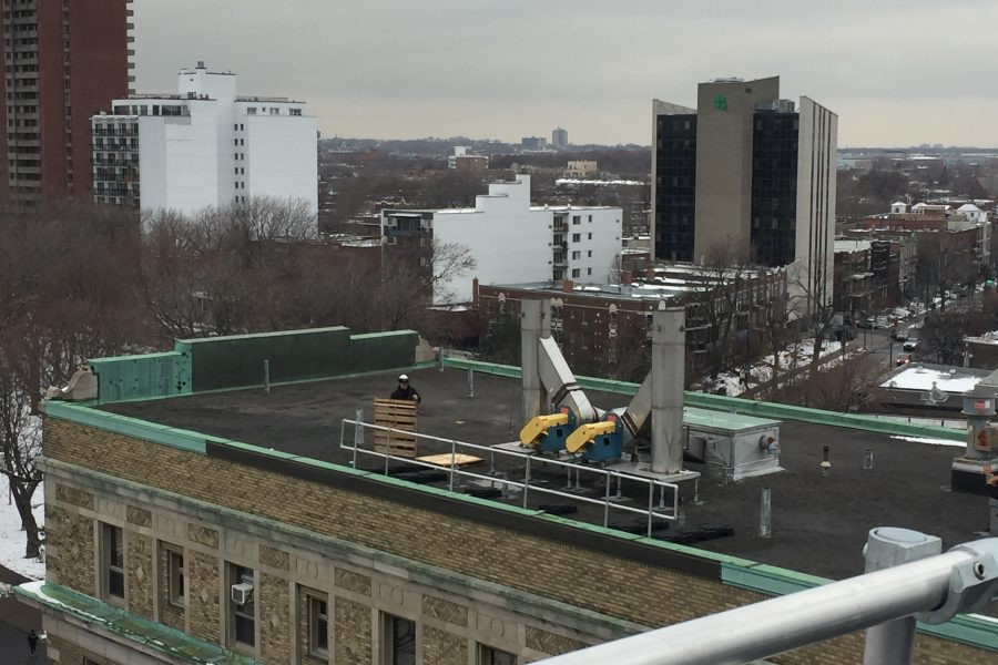 Case study: Free standing guardrails at Notre-Dame Hospital (CHUM) – Montreal, QC