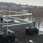 freestanding guardrails_roof safety