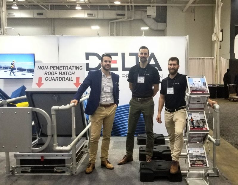 The best roof safety railings in Toronto were presented at this year's Partners in Prevention.