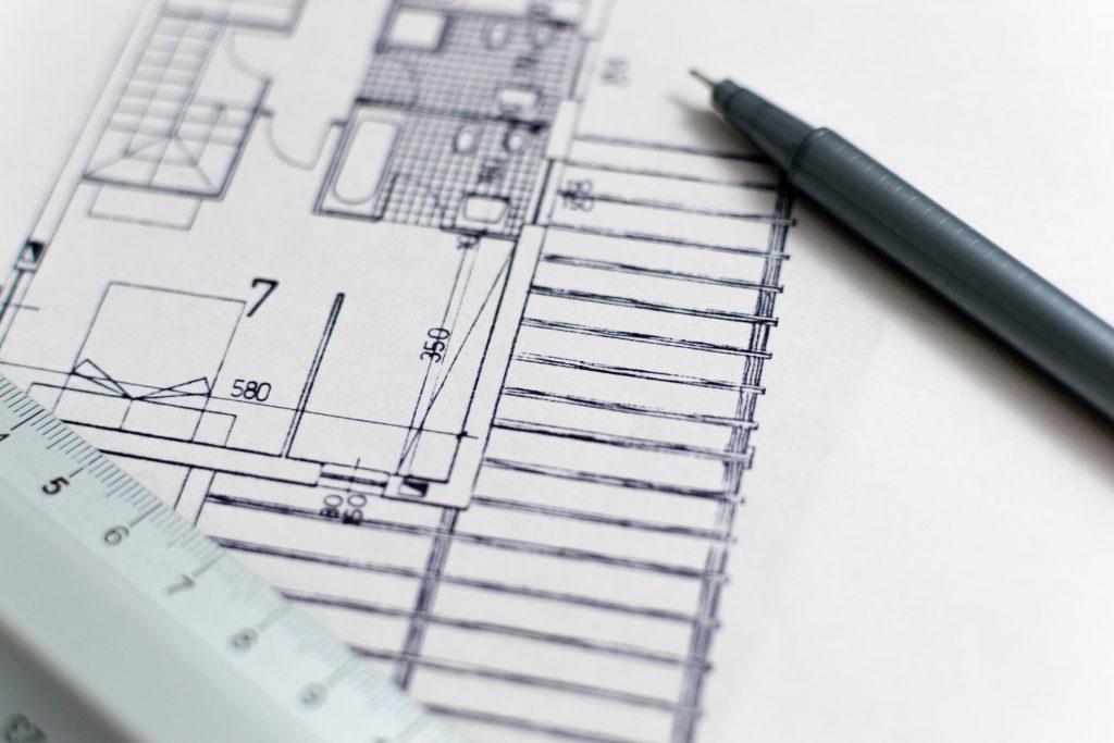 rooftop material survey guardrail