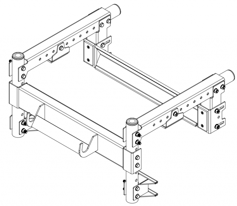 Extension ladder port - stabilizer only