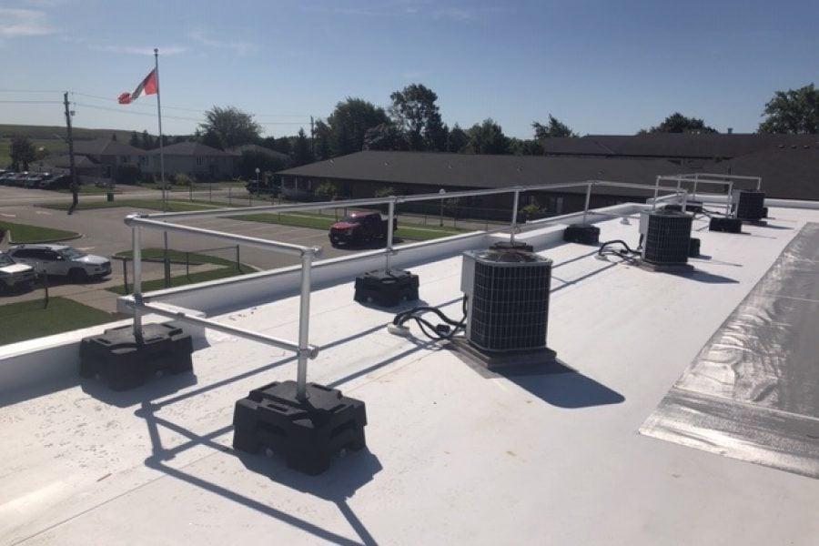 VSS Compact roof safety railing